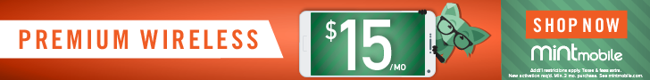Mint Mobile $15/mo